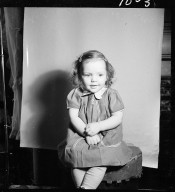 Portrait of Janice Douglas as a child