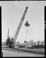 Kalamazoo Vegetable Parchment Company, crane with sling