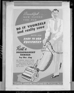 Clarke Sanding Machine Company advertisement for the Dreadnaught Sander