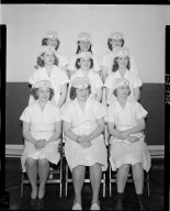 Group portrait, American Red Cross, Kalamazoo Chapter, nurses