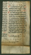 Noted Missal Leaf : fragment