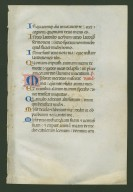 MS 119, leaf 1, recto