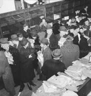 J. R. Jones and Sons, Department Store, shirt sale, overhead view