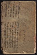 Liturgical Manuscript Leaf [binding fragment]