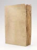 Processional, front cover and fore-edge