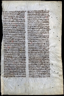 "Leaf from the papal bull ""Exivi de paradiso"" of Pope Clement V"