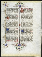 Leaf from the Llangattock Breviary