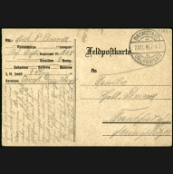 Paul Pommer correspondence, 1916-11-23, World War I
