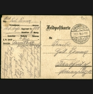 Paul Pommer correspondence, 1916-11-28, World War I