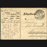 Paul Pommer correspondence, 1916-12-06, World War I