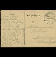 Paul Pommer correspondence, 1916-12-12, World War I