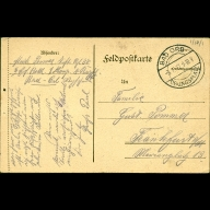 Paul Pommer correspondence, 1917-01-02, World War I