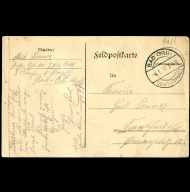 Paul Pommer correspondence, 1917-01-04, World War I