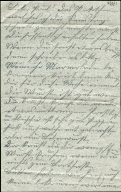 Paul Pommer correspondence, 1916-12, World War I