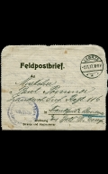 Paul Pommer correspondence, 1917-10-31, World War I