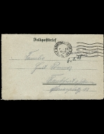 Paul Pommer correspondence, 1918-01-06, World War I