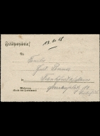 Paul Pommer correspondence, 1918-01-13, World War I