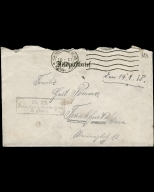 Paul Pommer correspondence, 1918-01-14, World War I