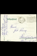 Paul Pommer correspondence, 1918-01-23, World War I