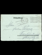 Paul Pommer correspondence, 1918-01-26, World War I