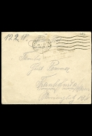 Paul Pommer correspondence, 1918-02-12, World War I