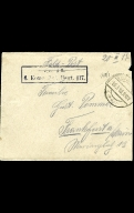 Paul Pommer correspondence, 1918-03-20, World War I