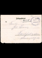 Paul Pommer correspondence, 1918-05-21, World War I