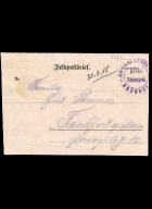 Paul Pommer correspondence, 1918-03-30, World War I