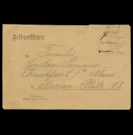 Paul Pommer correspondence, 1918-03-28, World War I