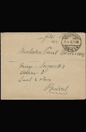 Paul Pommer correspondence, 1918-04-25 World War I