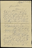 Paul Pommer correspondence, 1918-06-04, World War I