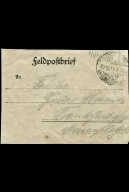 Paul Pommer correspondence, 1918-10-25, World War I