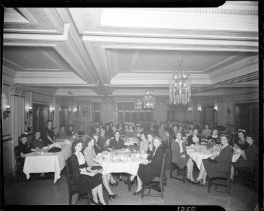 Banquet at Columbia Hotel, Kalamazoo, Michigan