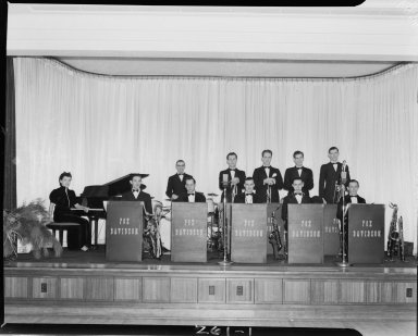 Fox-Davidson Orchestra in Western State Teacher's College Ballroom