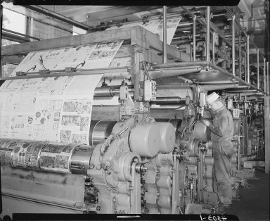 Minnesota Mining and Manufacturing Company, printing press at Kalamazoo Gazette
