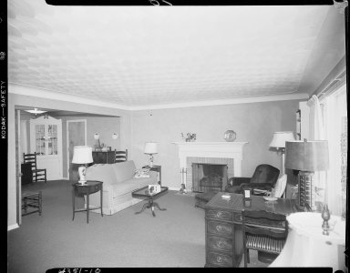Miller Lumber Company, home interior, living room