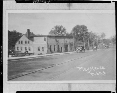 Western State Normal School Playhouse, Kalamazoo, MI, copy negative