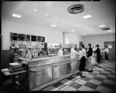 Western Michigan University, Bernhard Student Center, interior, cafeteria