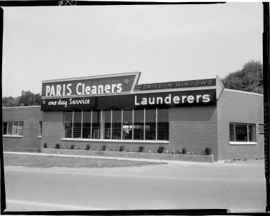 Paris Cleaners, 508 W. Crosstown Parkway, exterior