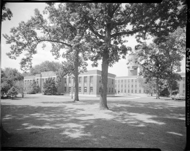 Fairmount Hospital and State Hospital, exterior