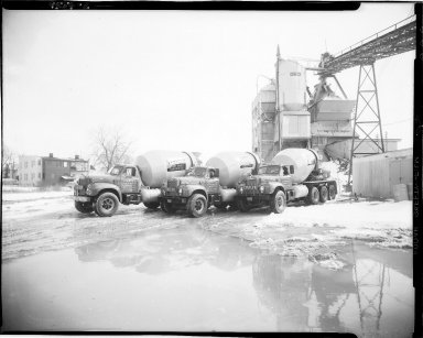 Statler Ready Mixed Concrete Company trucks