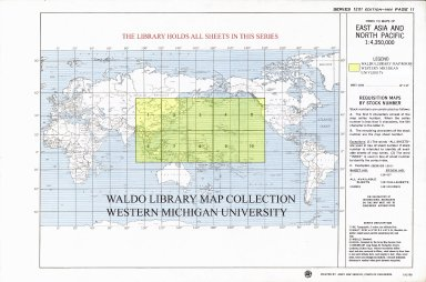 Index to maps of East Asia and North Pacific 1:4,350,00