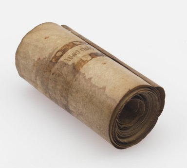 Prayer Roll in Middle English and Latin, rolled