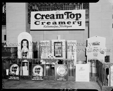 Cream Top Creamery, trade show display