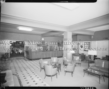 Hotel Harris, interior, lobby and seating area