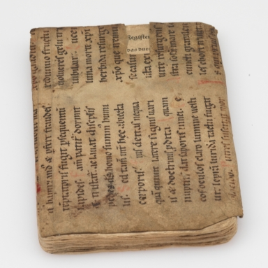 Liturgical Manuscript Leaf [binding fragment], front cover