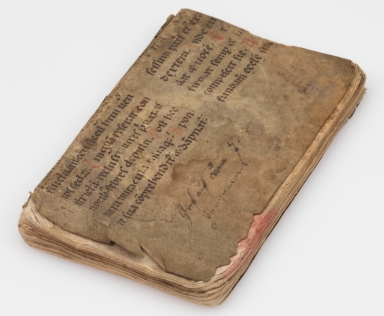 Liturgical Manuscript Leaf [binding fragment], back cover