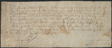 Order, 1323 February 25, from Aimerie Du Cros