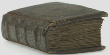 Book of hours : use in Rome, spine