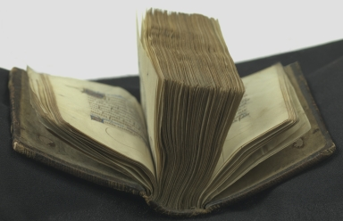 Book of hours : use in Rome, open